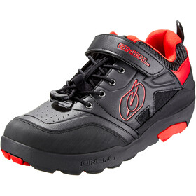 O'Neal Traverse Flat Scarpe Uomo, black/red